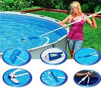 Комплект для чистки бассейна Intex 28003, аксессуары Intex, насосы, весла, комплектующее для купания, товары