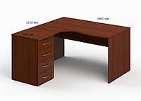 Угловой стол БЮ 1133025 (1400*1240*750)