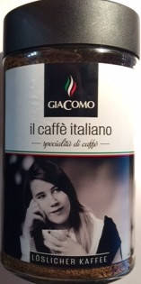 Кофе растворимый il caffe italiano Giacomo, 200 гр, фото 2