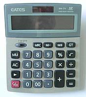 """Калькулятор """"EATES"""" BM-7V (12 разрядный, 2 питания), фото 1"""
