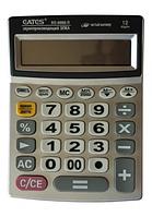 """Калькулятор """"EATES"""" BS-6688-R (12 разрядный, часы, 1 питание)"""