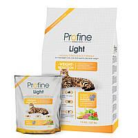 Profine Cat Light - сухой корм с индейкой для кошек имеющих проблемы с весом
