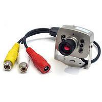 Камера LUX 208-1 цв., системы видеонаблюдения, камеры,видеодомофоны, купольные,безопасность
