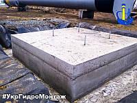 Устройство и заливка фундамента под водонапорную башню Рожновского ВБР