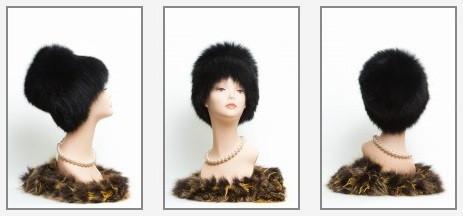 Шапка кубанка от интернет - магазина женских головных уборов из натурального меха  LEAsa