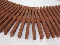 Переливные решетки для бассейнов из натурального дерева