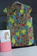 Цветная женская рубашка