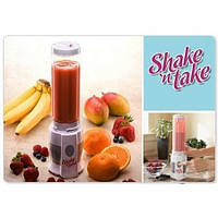 Блендер для коктейлей Shake'n Take (Шейк ен Тейк),здоровое питание