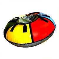Надувные санки, ватрушки тюбинг 100см, хит подаж, лучший подарок детям, детские санки, новогодние подарки