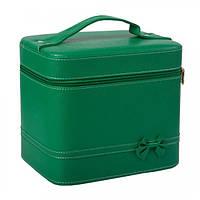 Набор бьюти-кейсов для косметики - CaseLife А-20-21 Зеленый Матовый - A20-21-GREEN