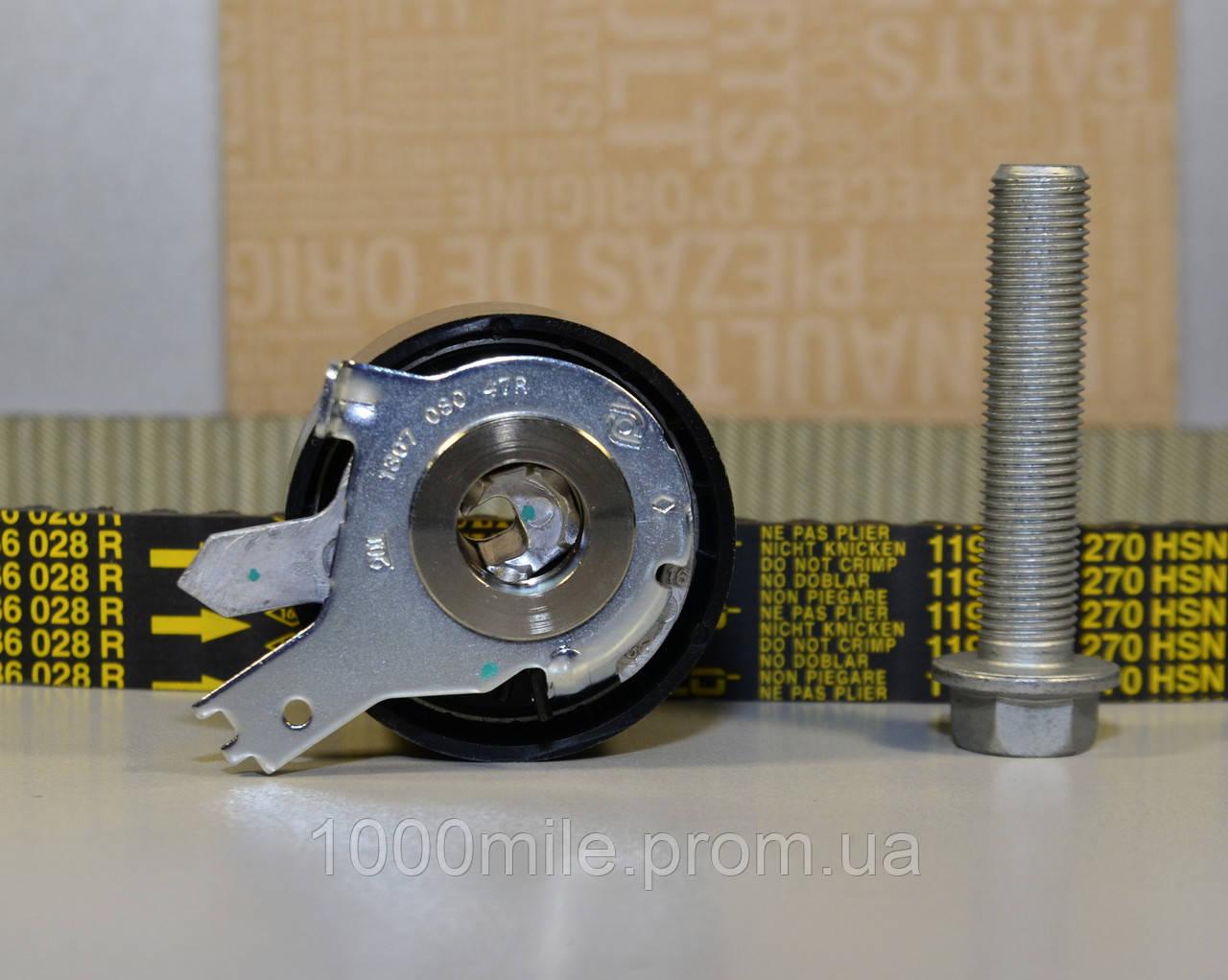 Комплект натяжитель + ремень ГРМ 1.5dCi на Renault Kangoo II  — Renault (Оригинал) - 130C11508R
