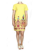Платье  льняное для женщин Арт.277 Разм.40-46