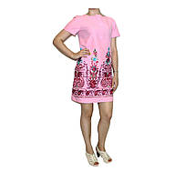 Платье  льняное для женщин Арт.277-2 Разм.40,46