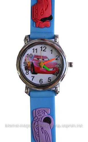 Часы наручные детские мальчик машинки