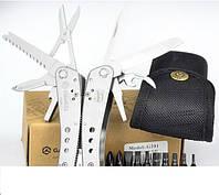 Надежный мультитул для рыбака или велосипедиста, Ganzo G201, многофункциональный нож, инструмент , нож