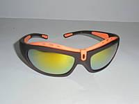 Спортивные очки 7077, велоочки, очки для бега, солнцезащитные, спортивные, очки для гребли, велоспорт