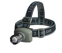 Налобный светодиодный фонарь ZOOM, фото 1