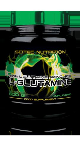 Глютамин Scitec Nutrition L-glutamine 600 g