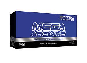Аргинин Scitec Nutrition Mega Arginine  120 caps