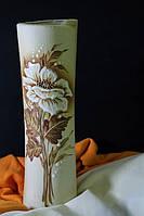 Ваза Свиток средний шуба с элементами золота.