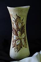 Ваза Румба средняя шуба с элементами золота.
