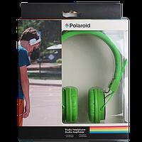 Наушники Polaroid, зеленые, фото 1