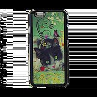 Чехол  для Apple iPhone 6/6s с 3D стерео-рисунком кот, фото 1