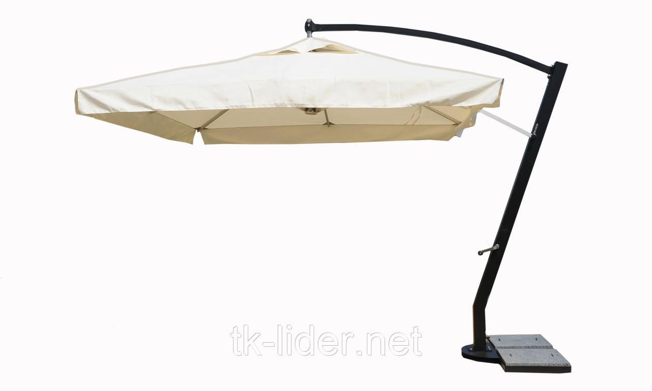 Консольный зонт однокупольный XL