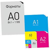 Формат и размер печатных изделий