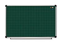 Доска настенная, 65х100 см  (для мела, ABC, алюм. рама S-line, 126510)