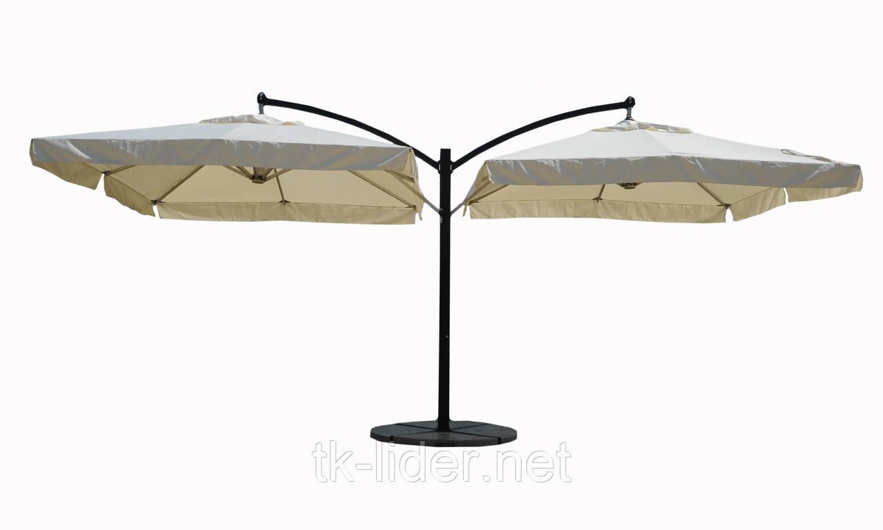 Консольный зонт двухкупольный ХXL