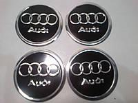 Наклейка на колпачок диска AUDI 60 мм