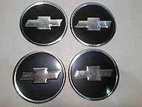Наклейка на колпачок диска Chevrolet диаметр 60 мм