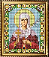 Схема для вышивания бисером Икона Святая мученица Клавдия