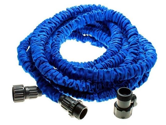 Шланг поливочный Magic Hose Мэджик Хоз 22,5 м синий