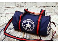 "Спортивная сумка ""баллон"" Converse, Конверс синяя ( код: IBS055Z ), фото 1"