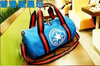 "Спортивная сумка ""баллон"", цилиндр Converse, Конверс голубая, фото 1"