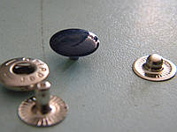 Кнопка 12.5 мм темно-синяя (720 штук)