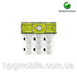 Клавиатура для Sony Ericsson K660, зеленая, AAA