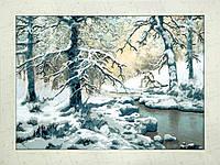 Волки возле зимнего ручья РК-077