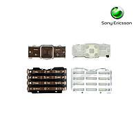 Клавиатура для Sony Ericsson K770, оригинал (кофейная)