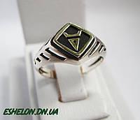 Кольцо серебряное  Символ Велеса 30258