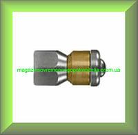 Канализационная форсунка пробивная ротационная для моек высокого давления 3 струи 280 бар 1/4