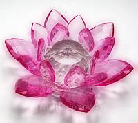Лотос хрустальный розовый код 18280