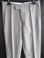 Светло-коричневые тонкие мужские брюки