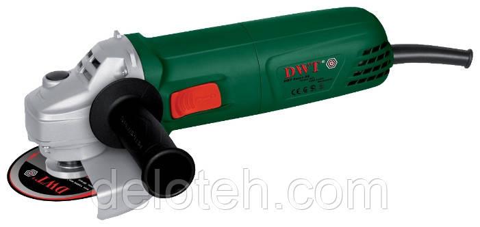 Угловая шлифовальная машина DWT WS08-125