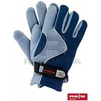 Rpoltrian njn - 8 ( светло-синие ) перчатки женские из флиса TM Reis