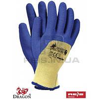 Rbluegrip yn - 9 перчатки защитные из полиэстеровой ткани покрыты резиной TM Reis