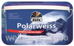 Супер-белая акриловая краска Dufa Polarweiss 5 л