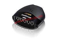 6-портовый концентратор FireWire, Совместим с IEEE 1394, IEEE 1394a.Скорость передачи – 100, (FH600)